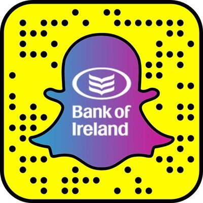 Snapchat Bank of Ireland