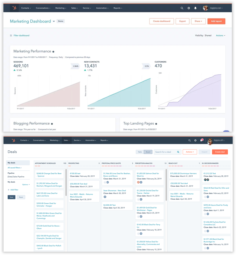 dashboard-hubspot